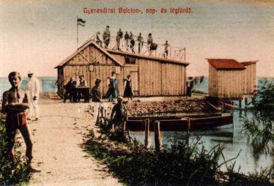 Strand a XX. század elején